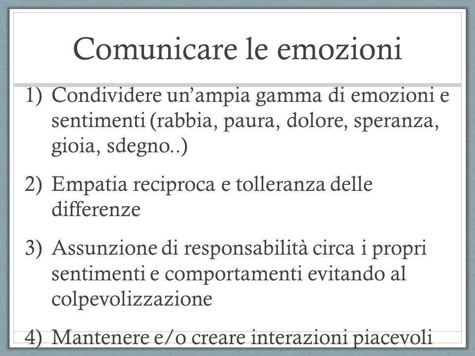 Comunicare le emozioni