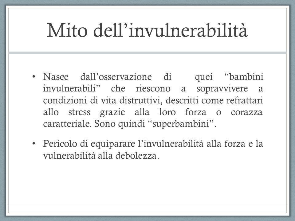 Mito dell'invulnerabilità
