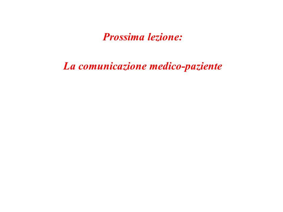 La comunicazione medico-paziente