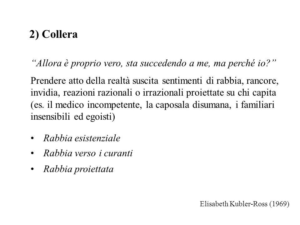 2) Collera Allora è proprio vero, sta succedendo a me, ma perché io