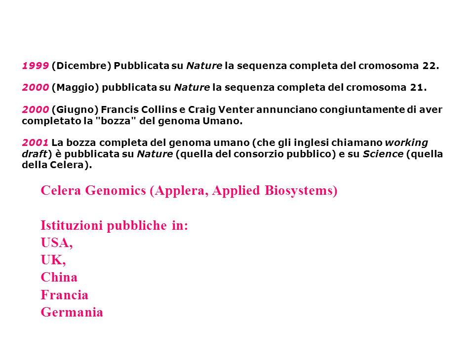 Celera Genomics (Applera, Applied Biosystems)