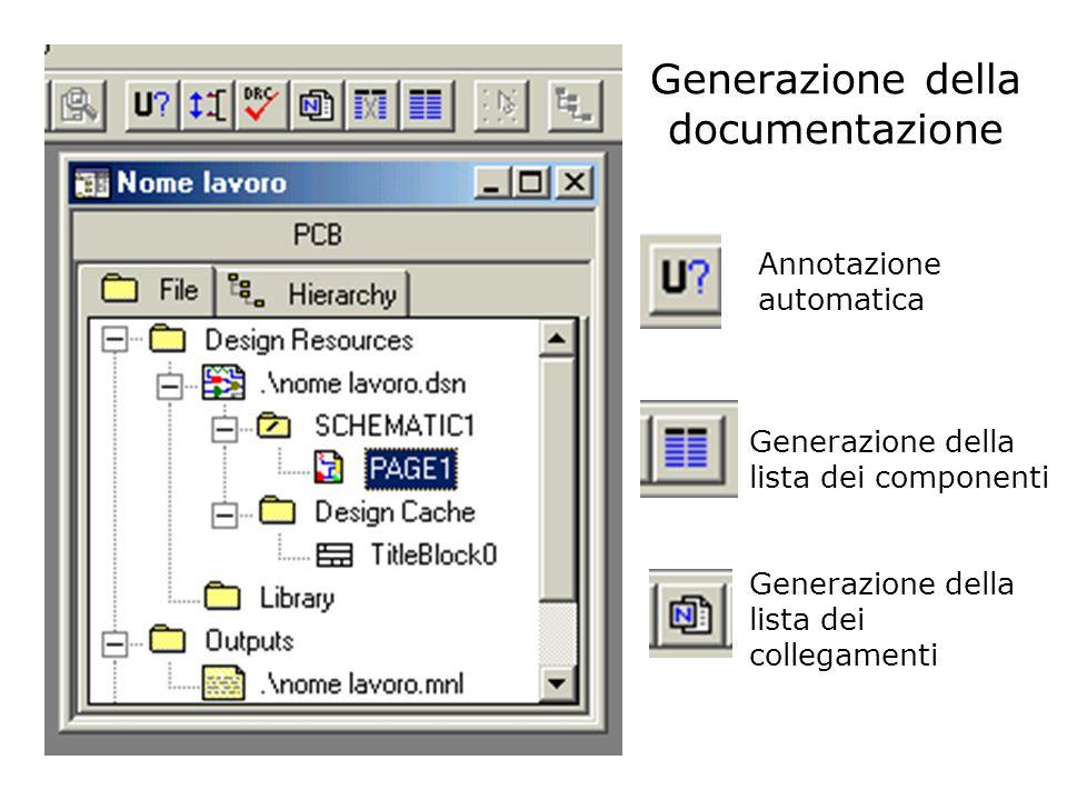 Generazione della documentazione