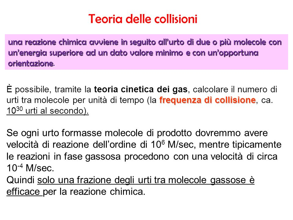 Teoria delle collisioni