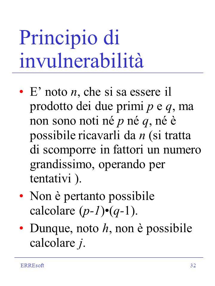 Principio di invulnerabilità