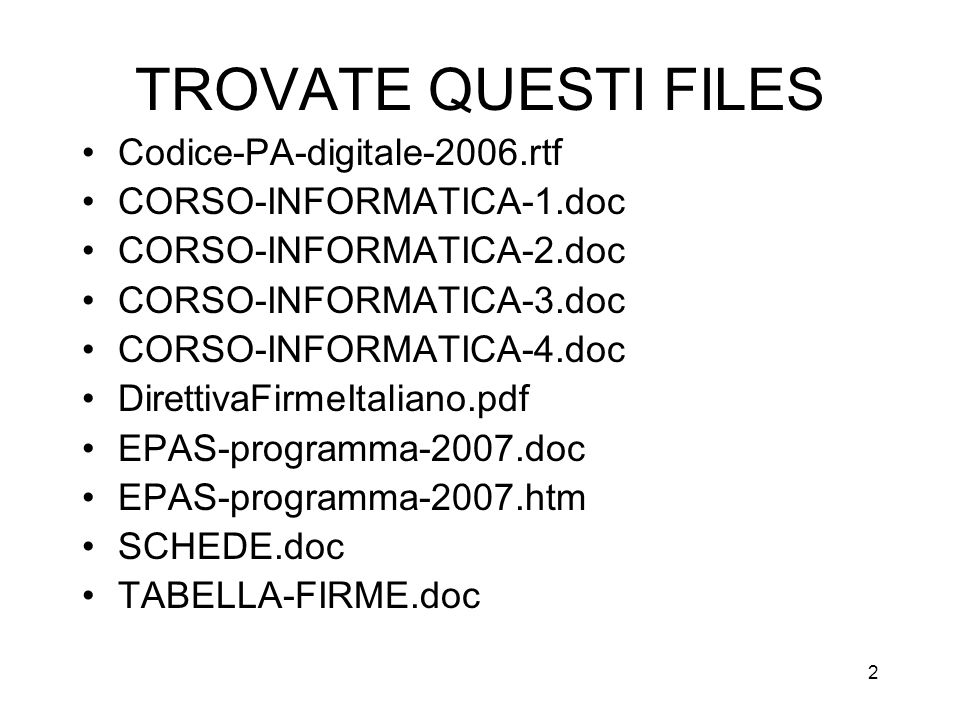 TROVATE QUESTI FILES Codice-PA-digitale-2006.rtf