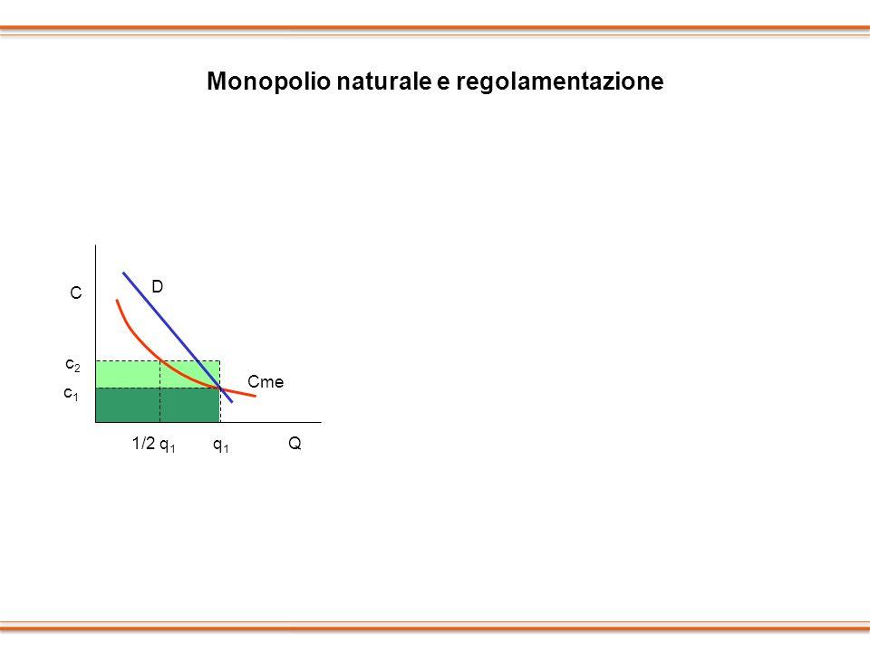 Monopolio naturale e regolamentazione