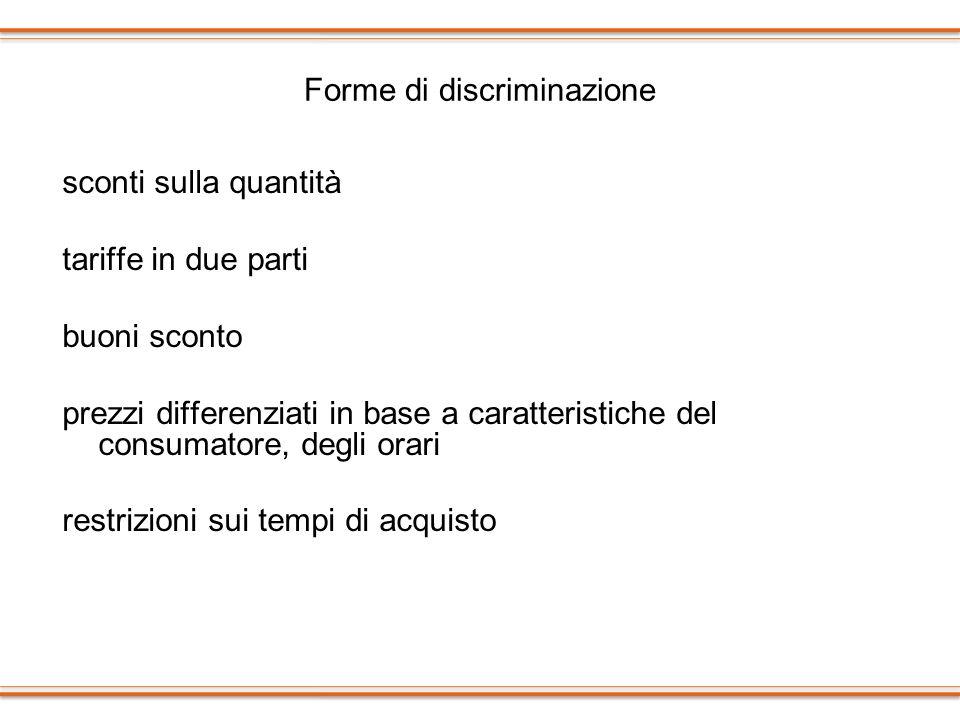 Forme di discriminazione