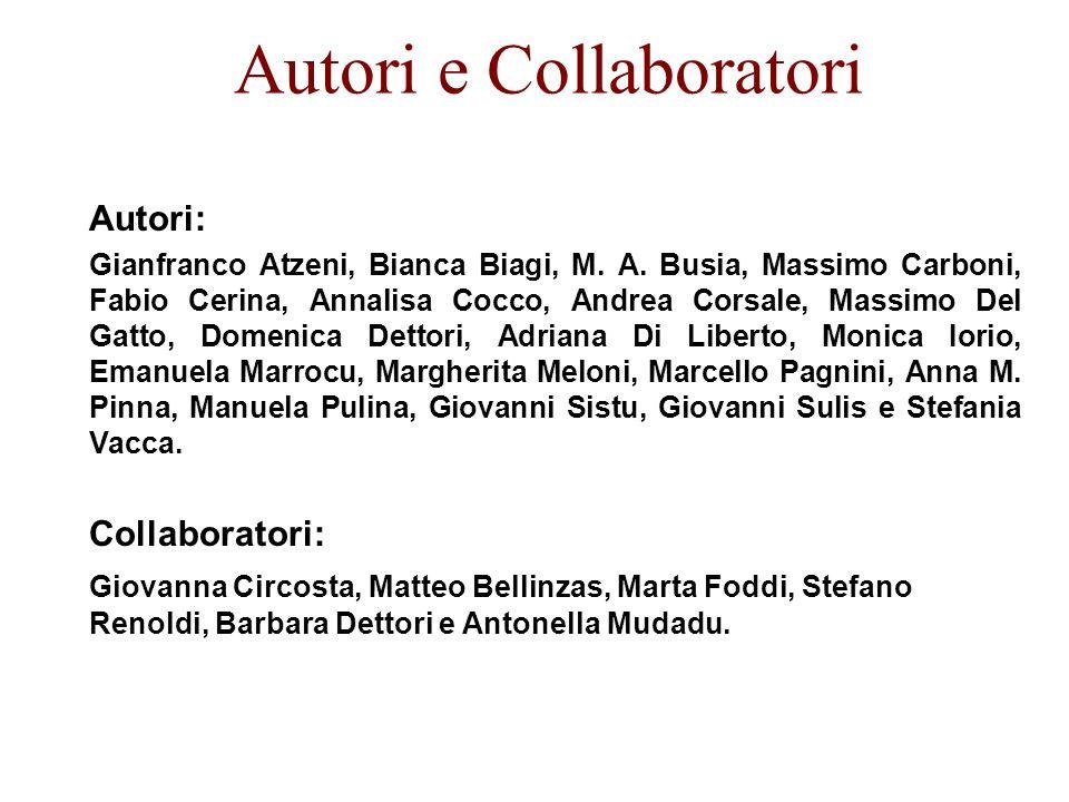 Autori e Collaboratori