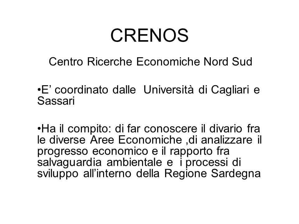 Centro Ricerche Economiche Nord Sud