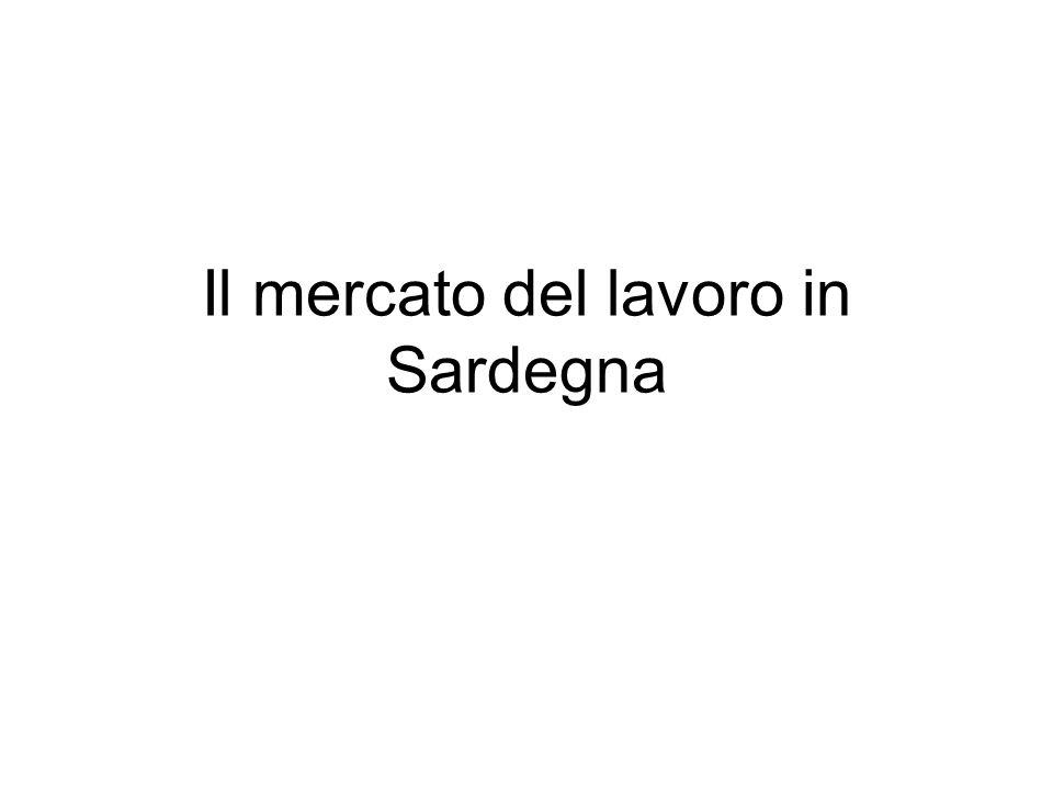 Il mercato del lavoro in Sardegna