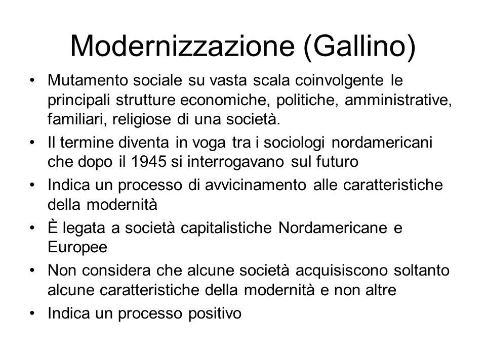 Modernizzazione (Gallino)