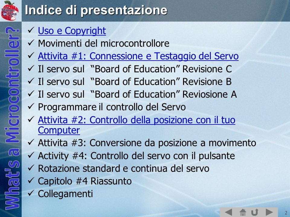Indice di presentazione
