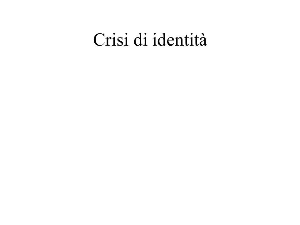Crisi di identità