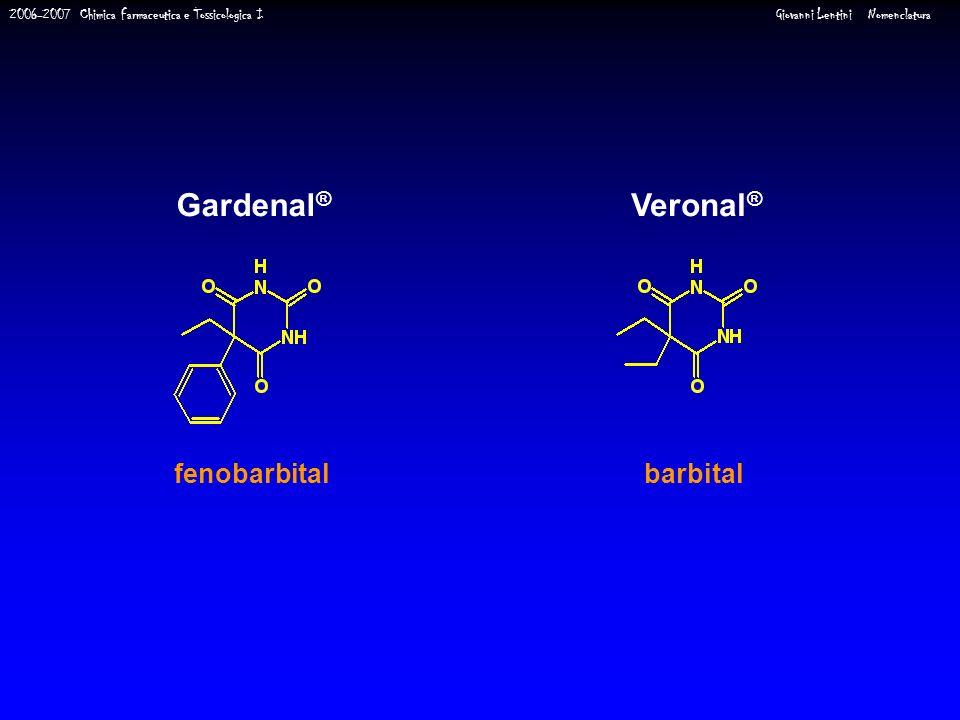 Gardenal® Veronal® barbital fenobarbital