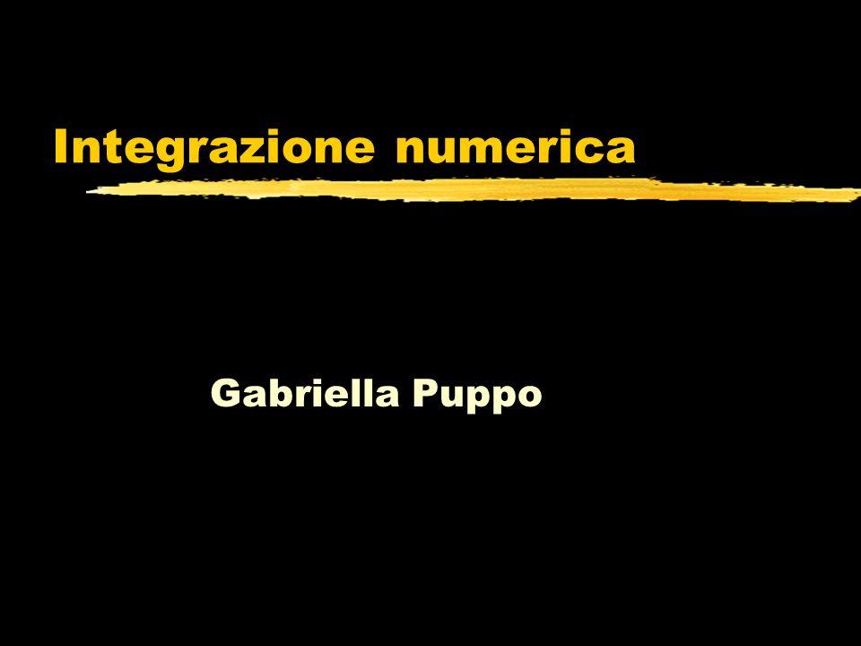 Integrazione numerica