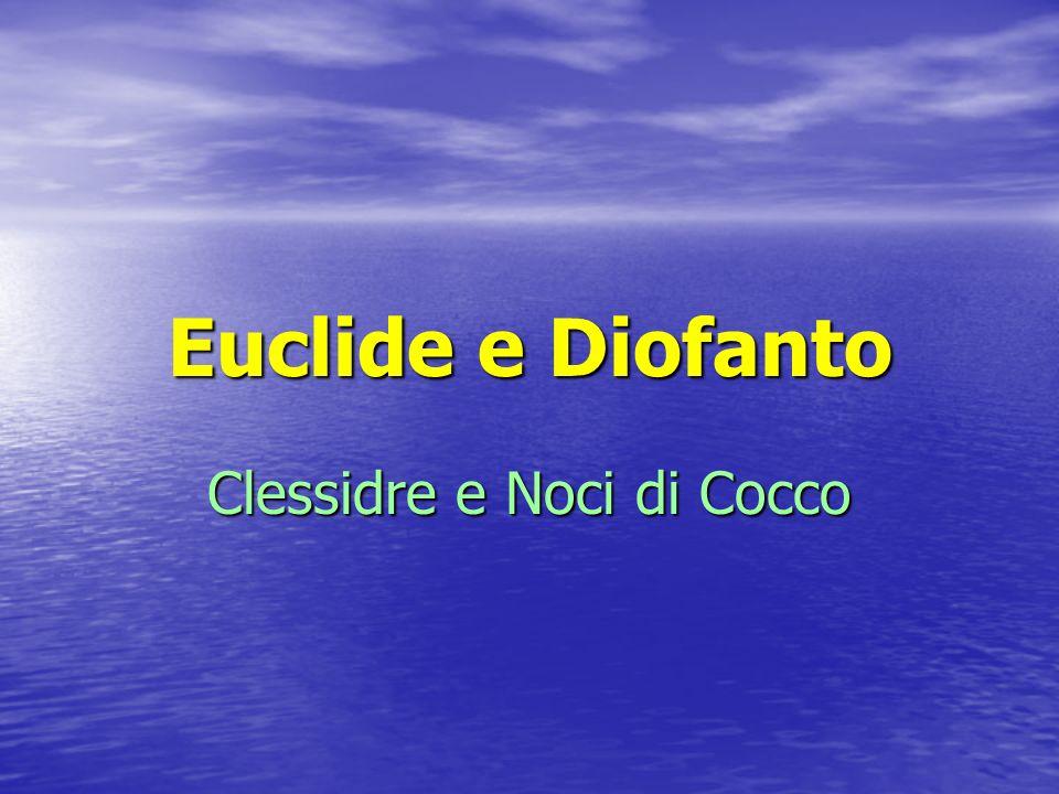 Clessidre e Noci di Cocco