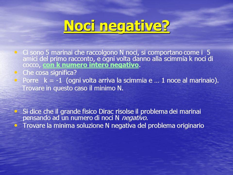 Noci negative