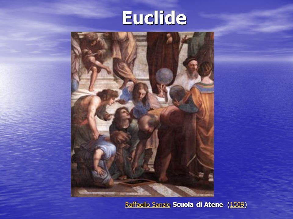 Euclide Raffaello Sanzio Scuola di Atene (1509)