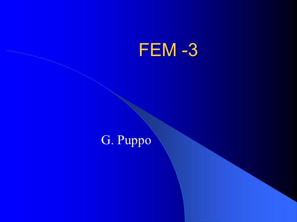 FEM -3 G. Puppo