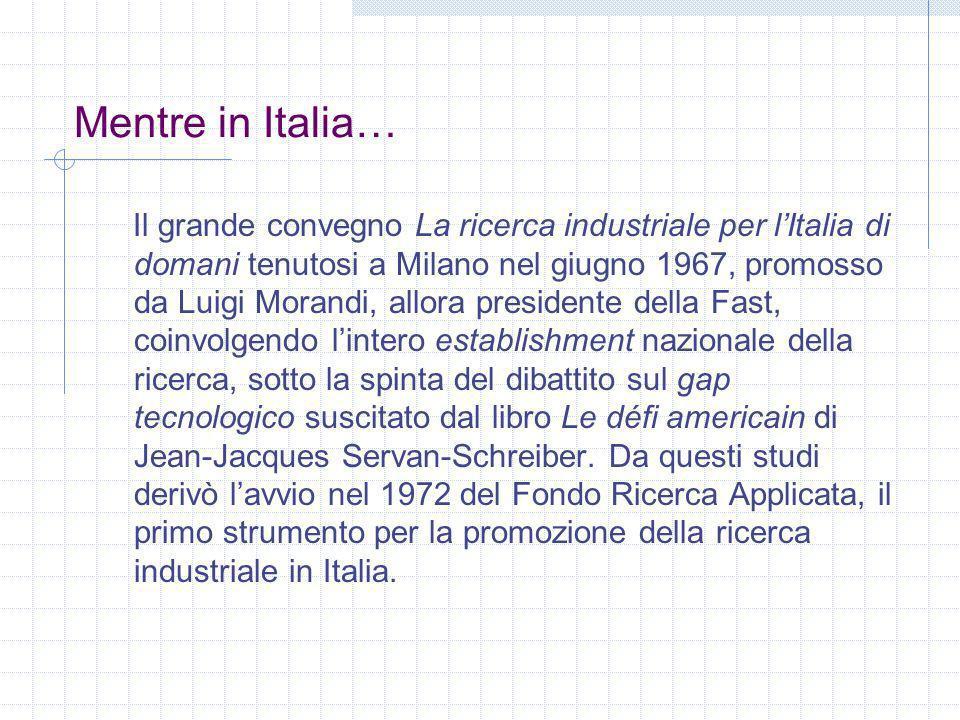 Mentre in Italia…
