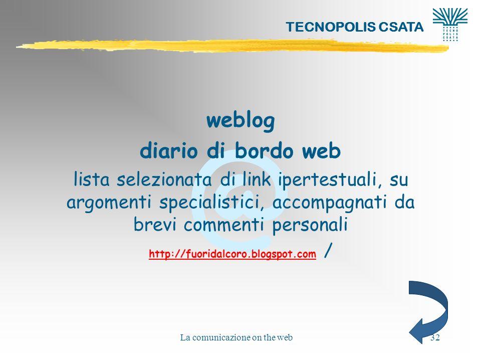 weblog diario di bordo web