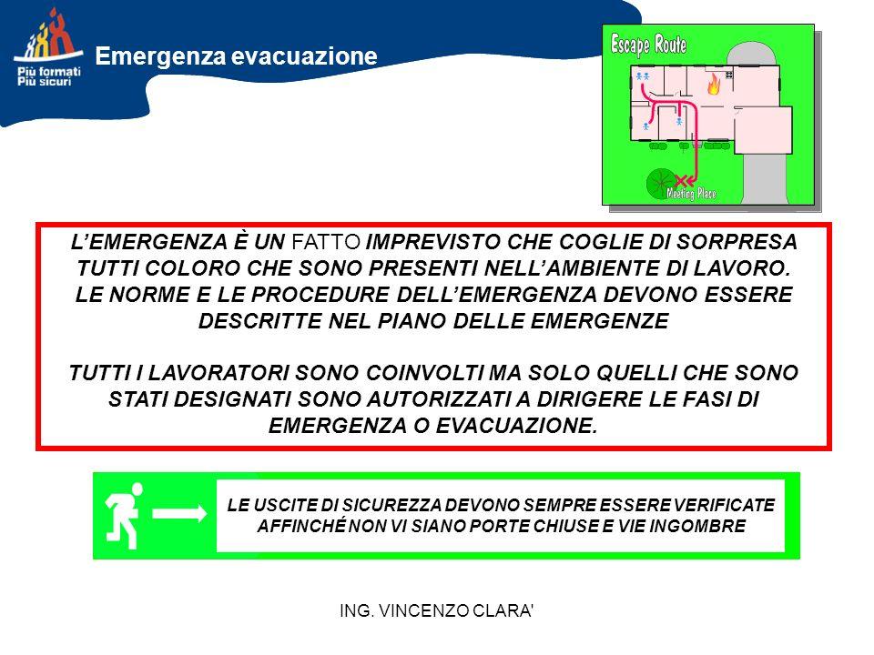 Emergenza evacuazione