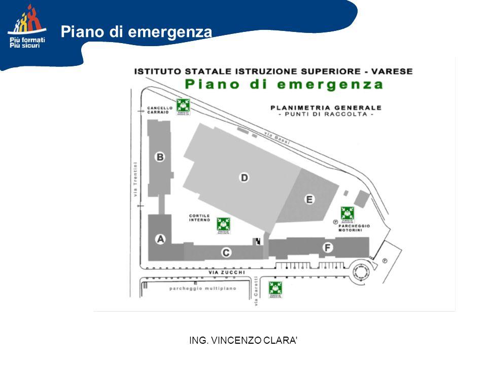 Piano di emergenza ING. VINCENZO CLARA 47