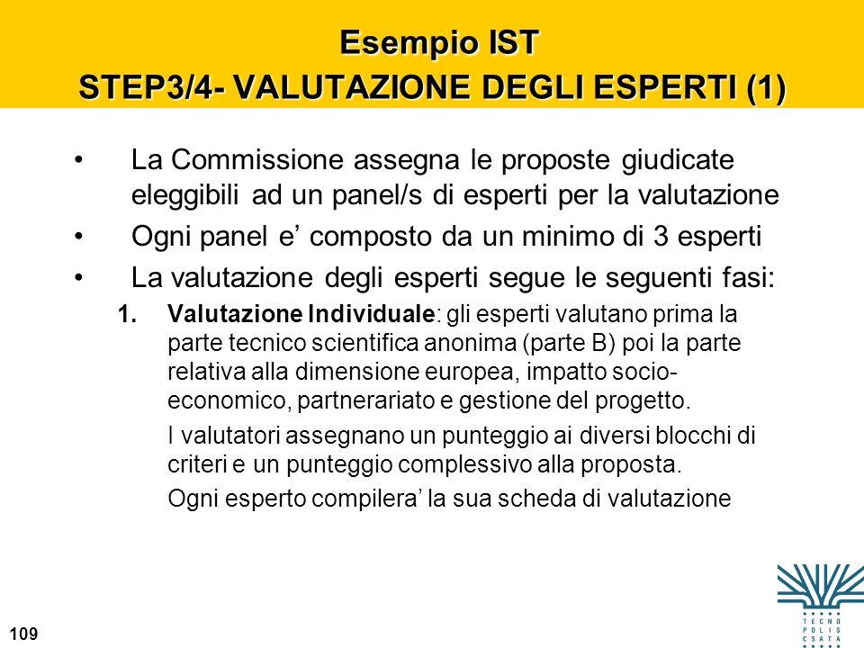 Esempio IST STEP3/4- VALUTAZIONE DEGLI ESPERTI (1)
