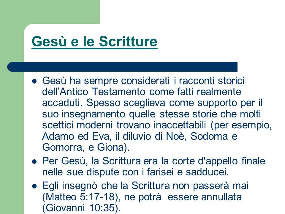 Gesù e le Scritture