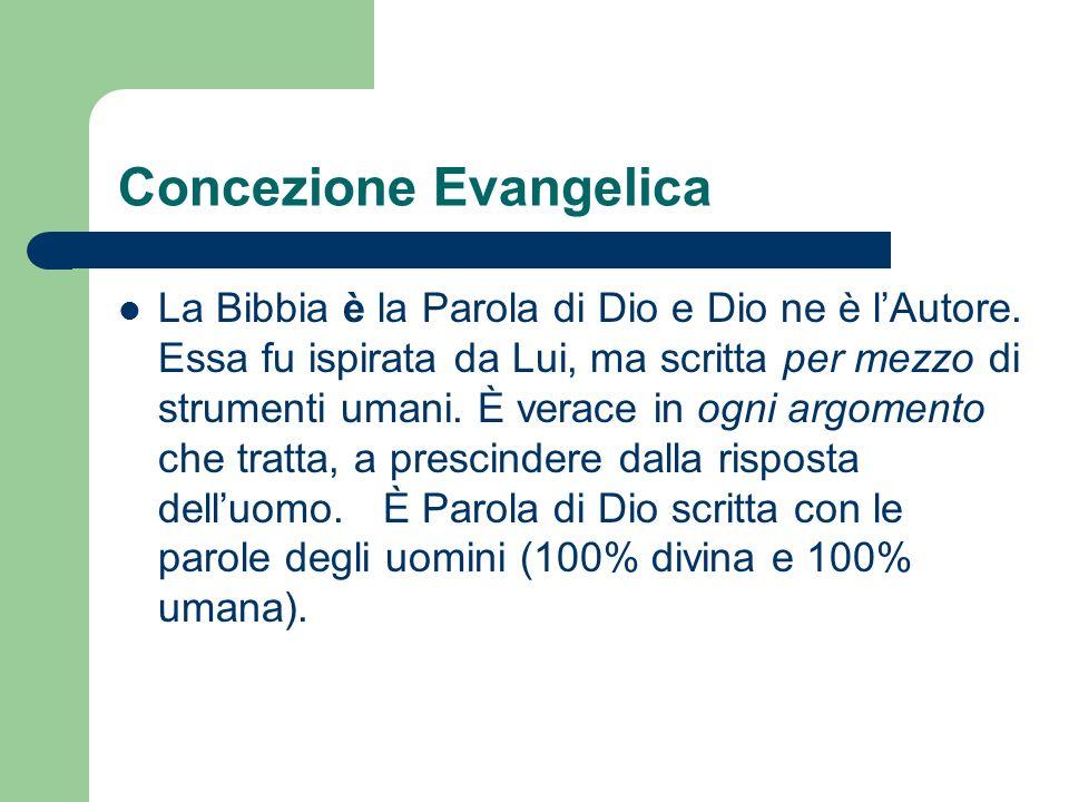 Concezione Evangelica