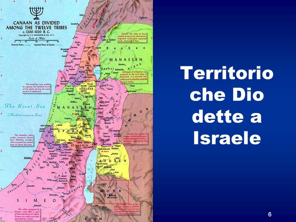 Territorio che Dio dette a Israele