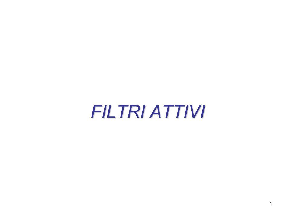FILTRI ATTIVI