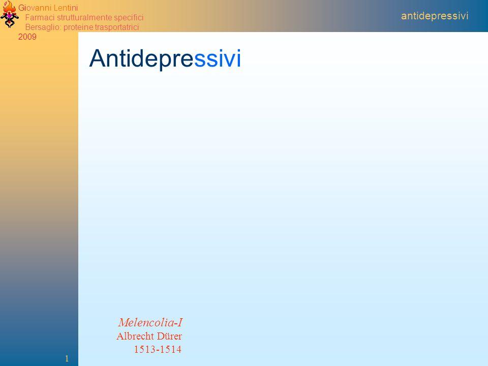 Antidepressivi Melencolia-I antidepressivi Albrecht Dürer 1513-1514