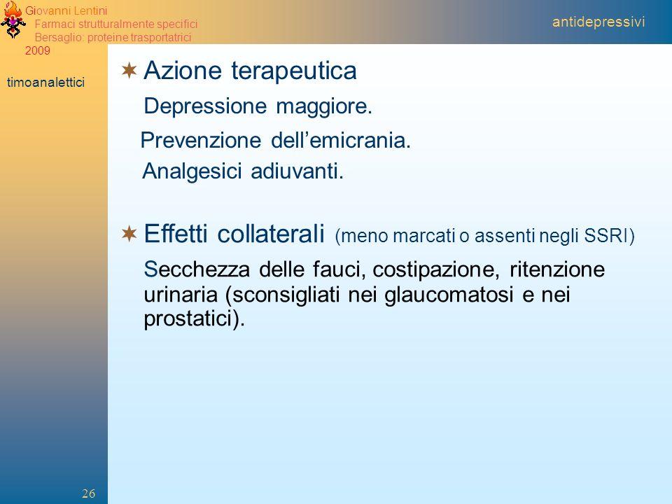 Prevenzione dell'emicrania.