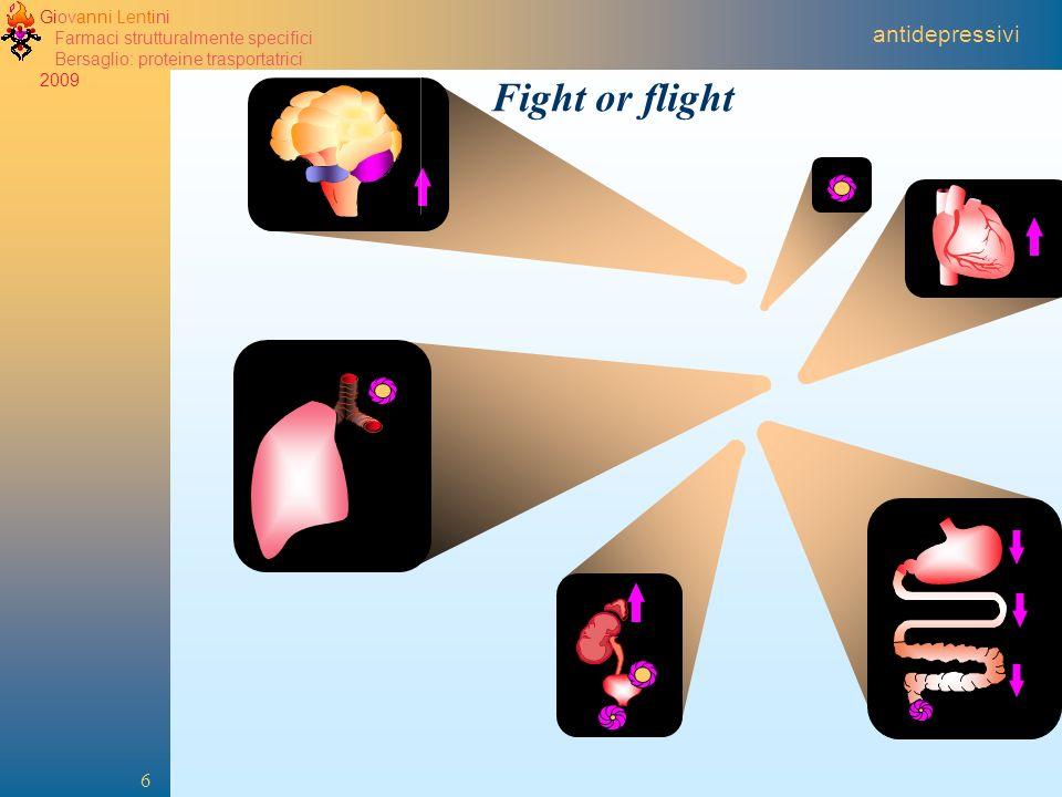 2005 antidepressivi Fight or flight