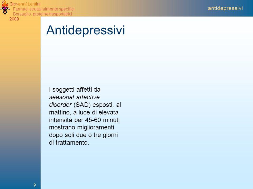 2005 antidepressivi. Antidepressivi.