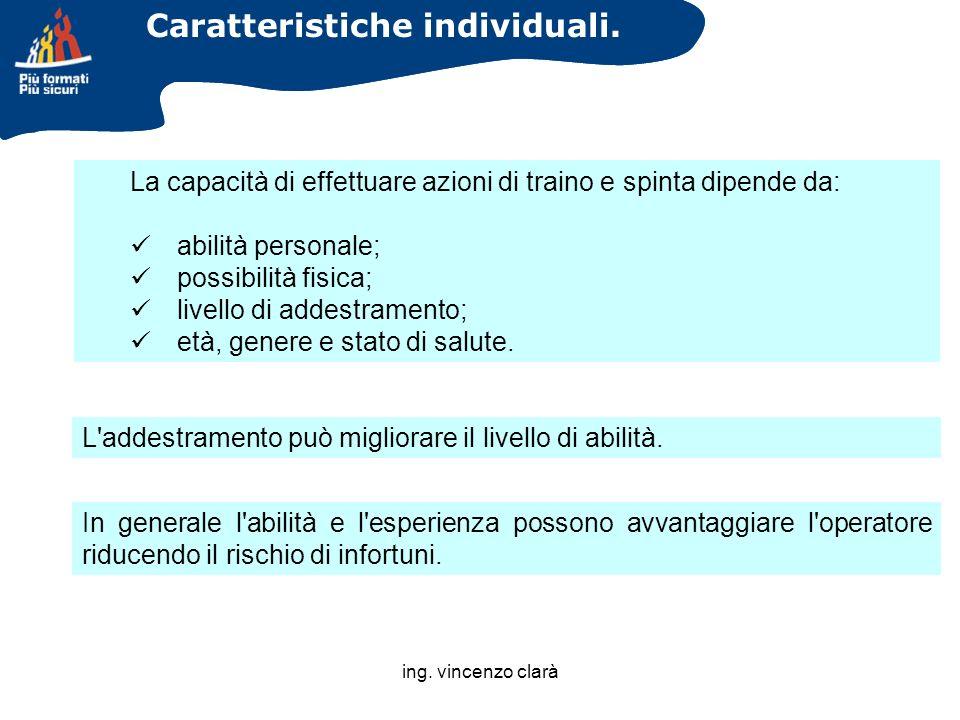 Caratteristiche individuali.