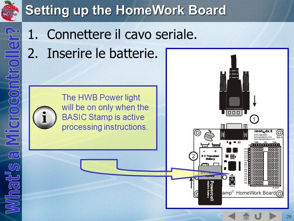 Setting up the HomeWork Board