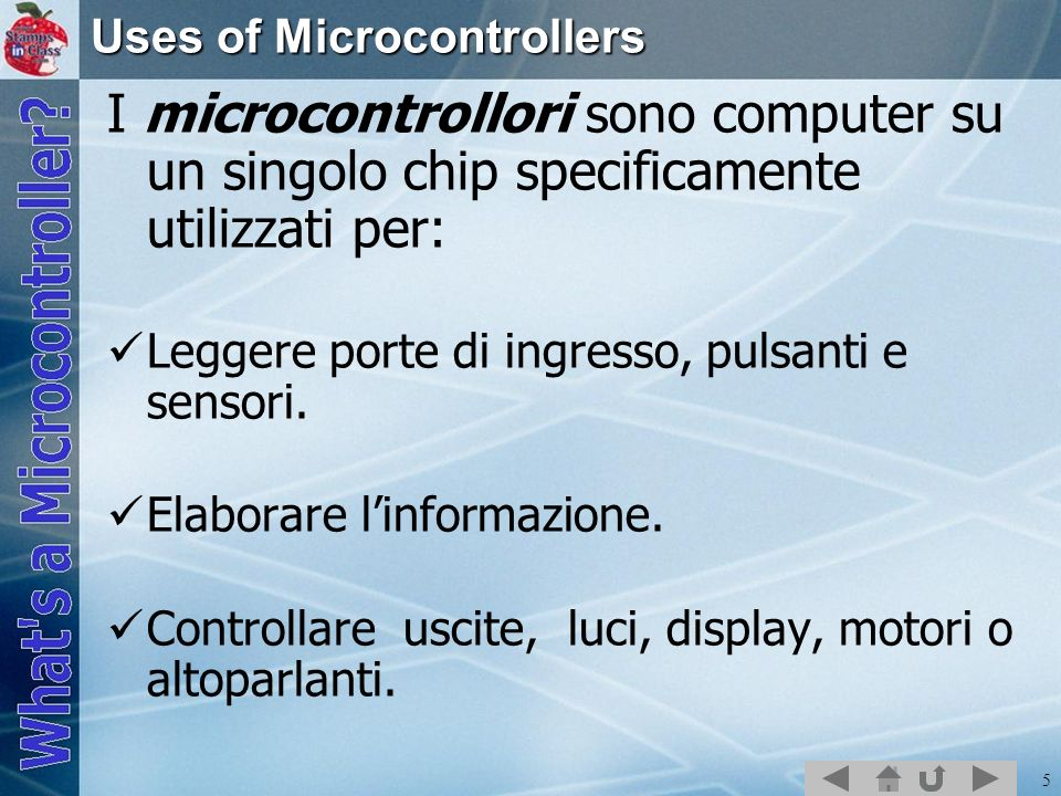 Uses of Microcontrollers