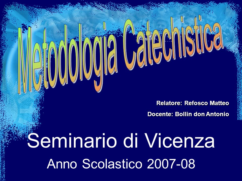 Metodologia Catechistica