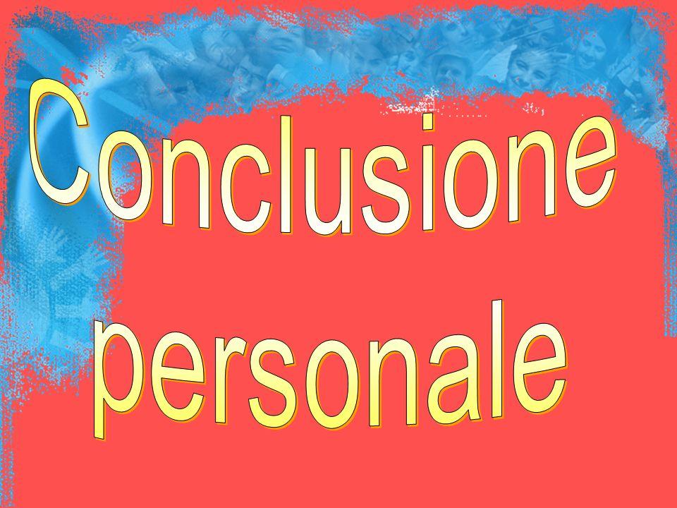 Conclusione personale