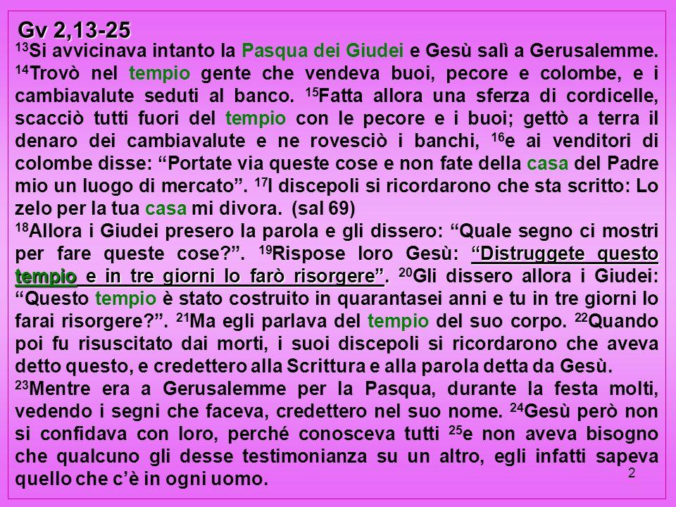 Gv 2,13-25