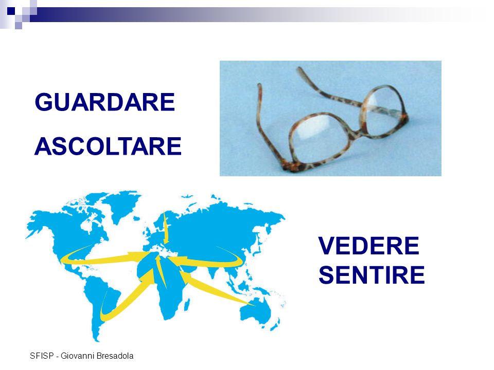 GUARDARE ASCOLTARE VEDERE SENTIRE SFISP - Giovanni Bresadola