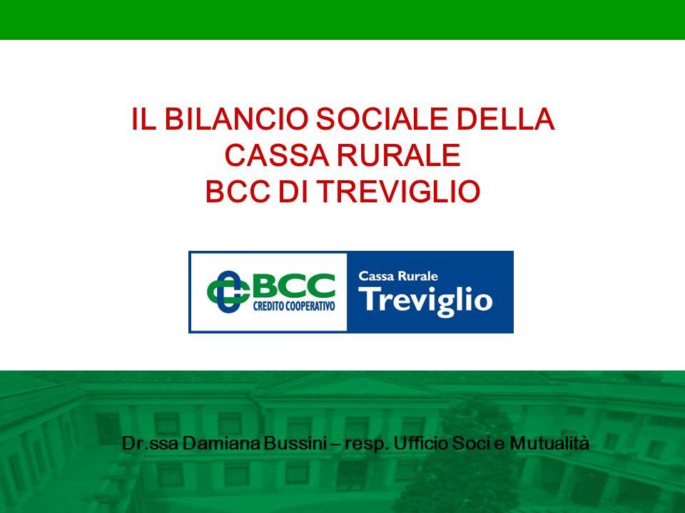 IL BILANCIO SOCIALE DELLA