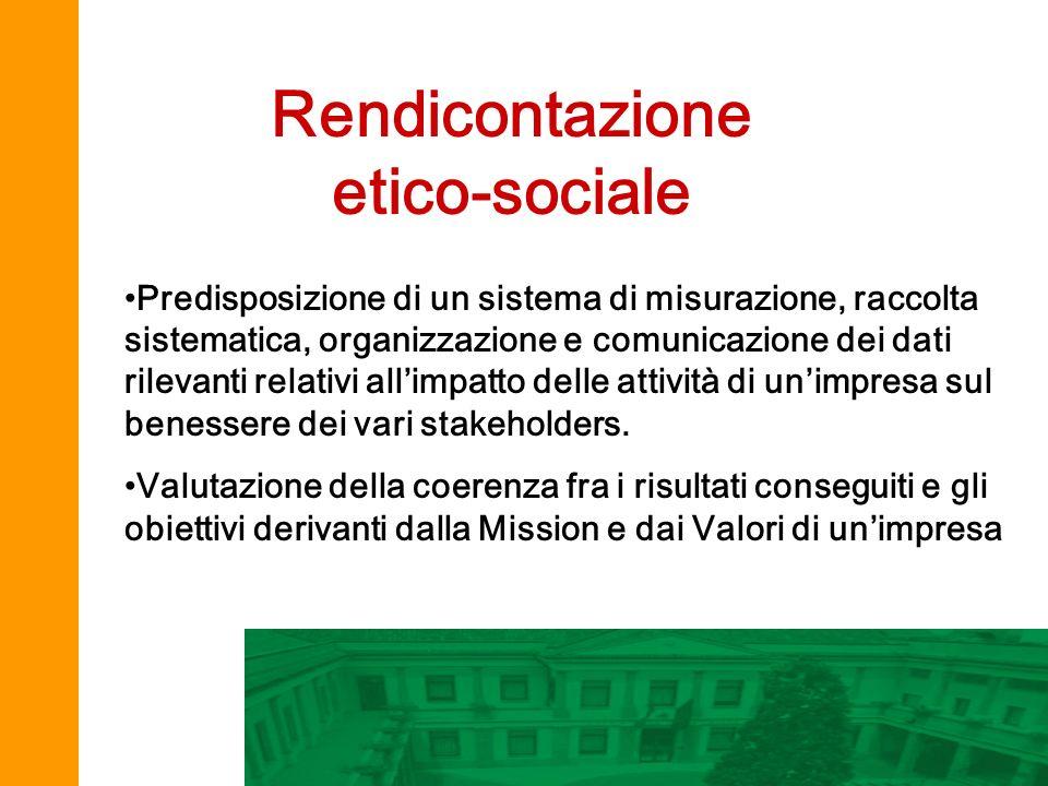 Rendicontazione etico-sociale
