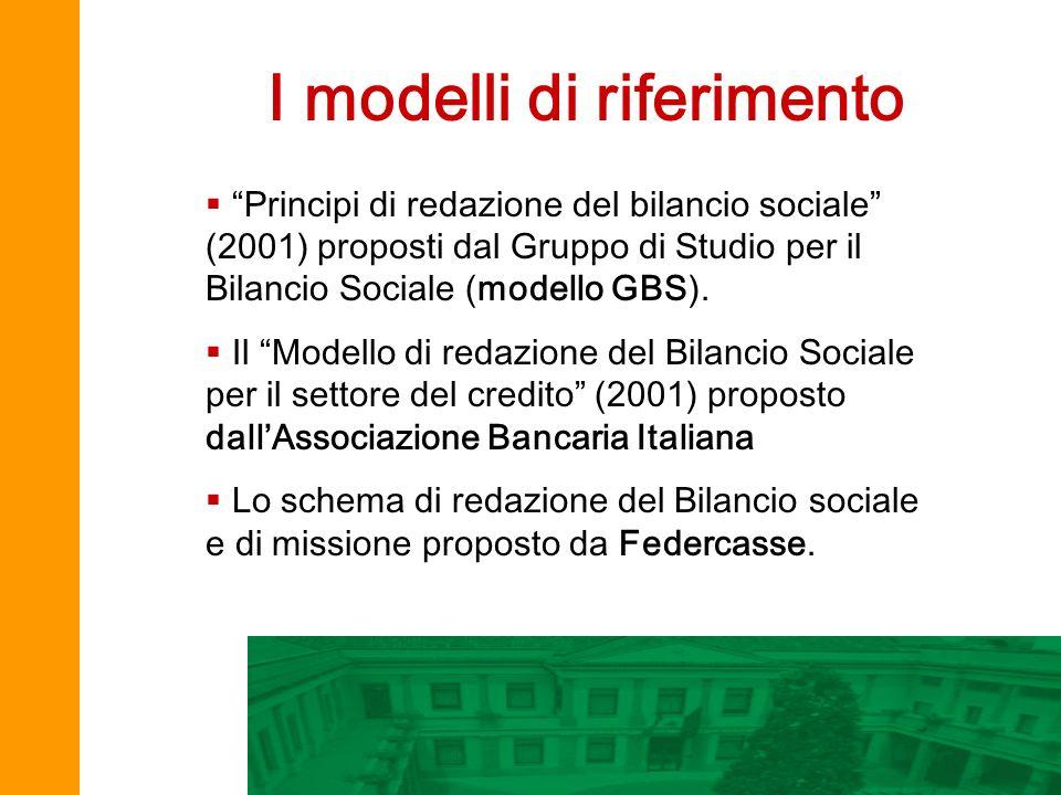 I modelli di riferimento