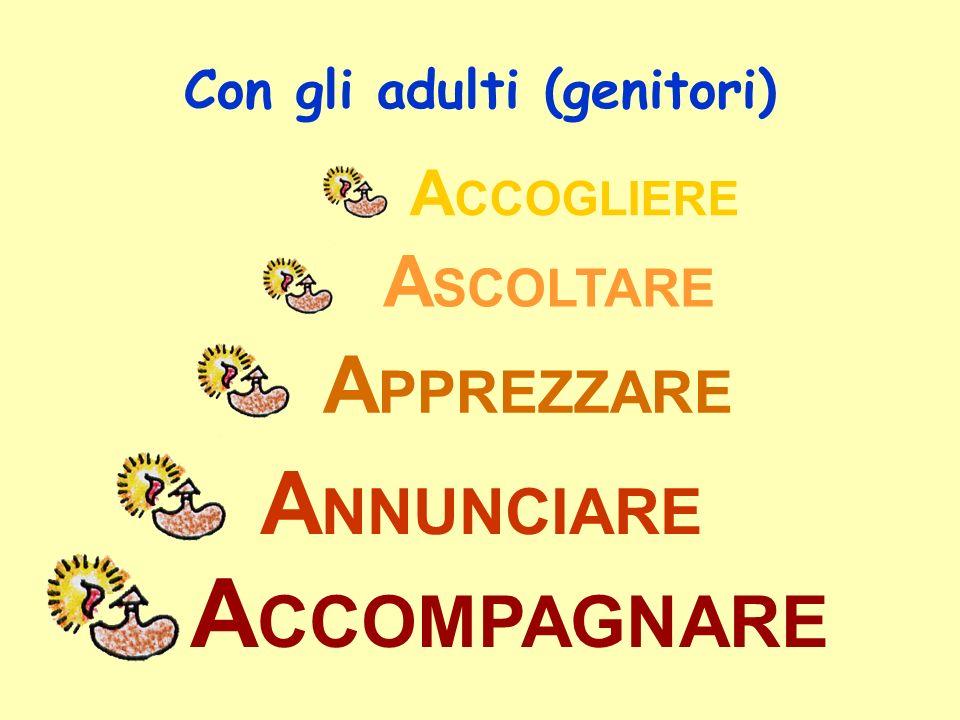 Con gli adulti (genitori)