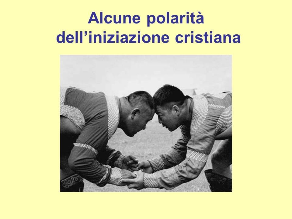 Alcune polarità dell'iniziazione cristiana
