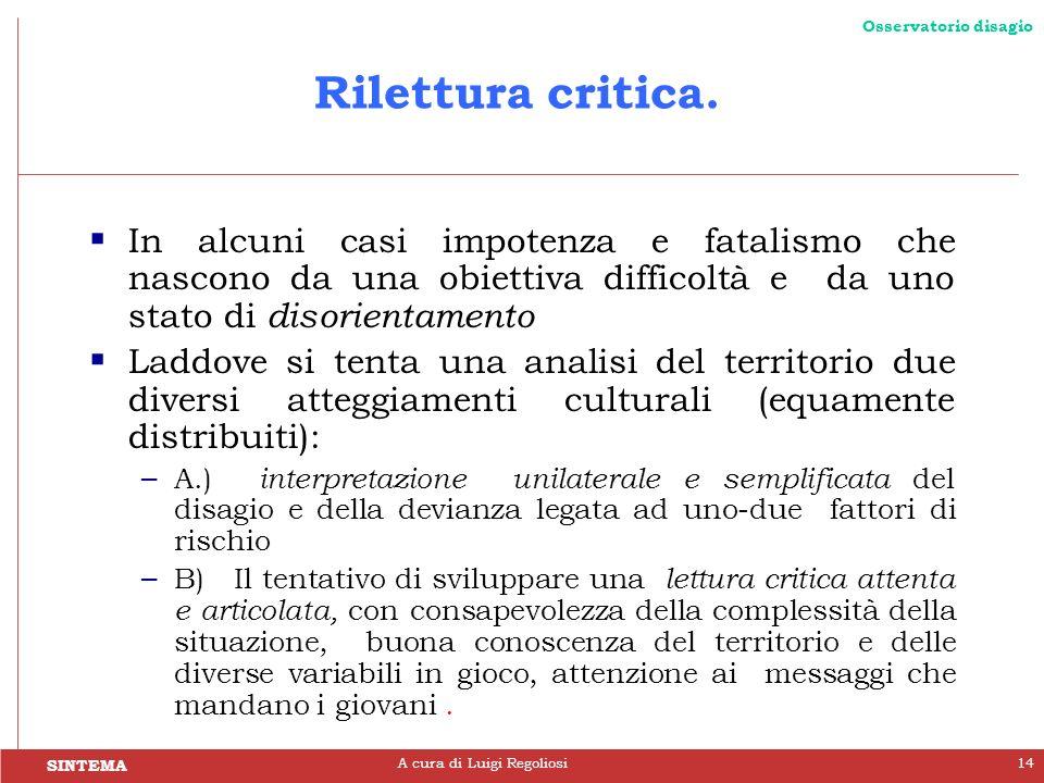 A cura di Luigi Regoliosi