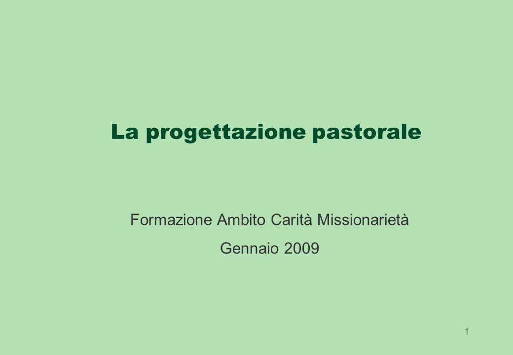 La progettazione pastorale